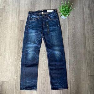 Rag & Bone Crop Straight Leg Jeans In Nord Size 25
